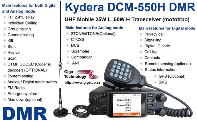 Kydera DCM- 550 DMR Mobile
