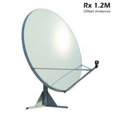 1.2M Offset Dish for Es'hail QO-100 Satellite