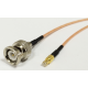 20cm (8inch) BNC Male Plug Connector to MCX Male Plug pigtail