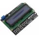 Keypad Shield Blue Backlight For Arduino LCD 1602 Board