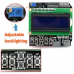 Keypad Shield Blue Backlight For Arduino LCD 1602 Board.