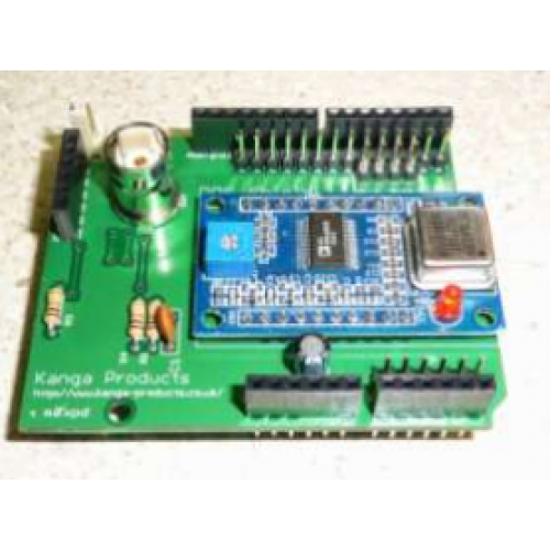 Arduino dds shield interface for ad module kit