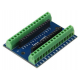 Terminal Adapter Board for the Arduino Nano V3.0 AVR ATMEGA328P-AU Module