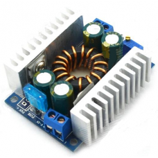 150W DC 8~32V to 9~46V Voltage Boost Converter Regulator - Blue