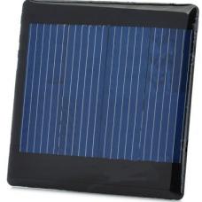 2V 150mA Solar Cell  - Black
