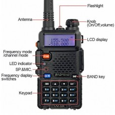 Baofeng UV 5R Portable Transceiver