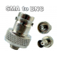 SMA to BNC SMA-F to BNC-F adapter for BaoFeng UV-5RA UV-5