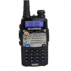 Baofeng UV5RA Black Dual Band Radio VHF/ UHF and FM broadcast band (4W)