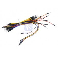 65pcs Breadboard Jumper Cables For Arduino Jump Code Wire Kit Set Breadboard Wires
