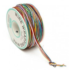 250M 8-Wire Colored Insulated P/N B-30-1000 30AWG Wire Wrapping Cable