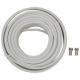 RG6 Coaxial Cable 20M for QO-100 (Eshail-2)