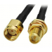 5M WiFi WAN Router Antenna Extension Cable RP-SMA