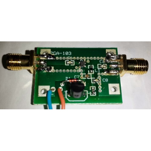 Low Noise preamplifier fo 50 to 1300 Mhz (kit)