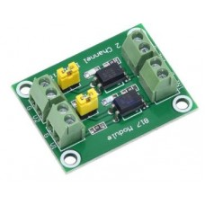PC817 2 Channel Optocoupler Isolation Board Voltage Converter Adapter