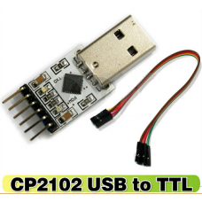 USB 2.0 to UART TTL 6PIN CP2102 Serial Port Converter.