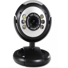 8.0 Megapixel 10x Digital Zoom PC WebCam 6 LED Camera PC + Mic