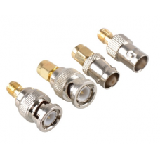 BNC to SMA set type male female RF connector (4pcs)