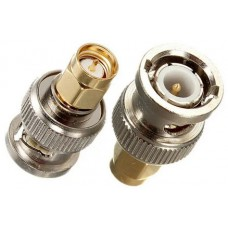 BNC Male to SMA Male RF Adapter Connector