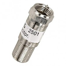 QO-100 IF DC Blocker F male to female adapter, connector