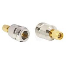 SMA Male Plug To N Female Jack RF Coaxial Adapter