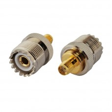 SMA Female to SO239 UHF Socket RF Adapter.