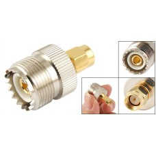 UHF SO-239 SO239 Female to SMA Male Connector Adapter