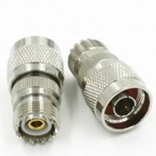 SO239 UHF Female Jack to N Male Plug adaptor