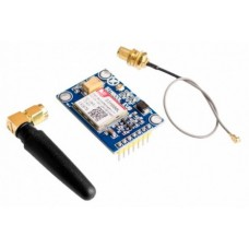 Wireless GSM GPRS Module Quad-Band W/ Antenna Cable Cap (SIM800L V2.0 5V )