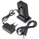 7 Port High Speed USB 1.1 2.0 Hub + AC Power Adapter EU Plug