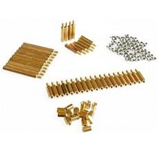 Copper M3 pillars + nut pack