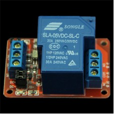 DC optocoupler isolated relay module FC65 5V 30A for I/O on Arduino and Raspberry Pi