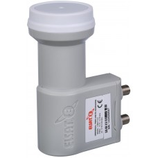 Eshail-2 Satellite Generic LNB Duel Port (L.O. Frequency:  Low 9.75GHz, High 10.60GHz)