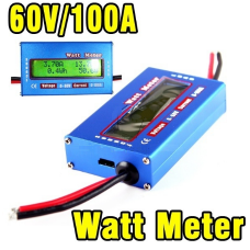 Digital 60V 100A Balance Voltage RC Battery Power Analyzer Watt Meter