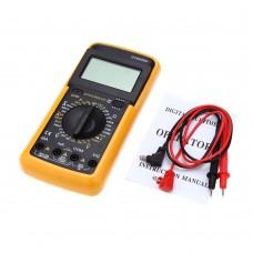 DT9205A Digital Multimeter. Measure DC /AC current, voltage, resistance, capacitance, hFE, diode