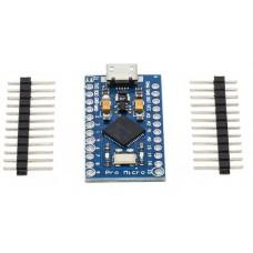 Pro Micro ATmega32U4 3.3V 16MHz for Arduino Pro Mini With 2 Row Pin Header For Leonardo Mini USB Interface
