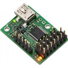 Pololu-1350 Micro Maestro 6-Channel USB Servo Controller (Assembled)