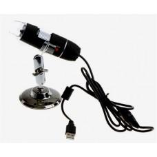 USB Digital Microscope 2MP 2.0 Mega Pixels 8 LED 200X Camera