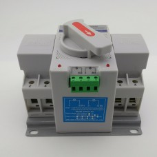 Automatic transfer switch ATS 2P 63A 230V MCB type Dual Power.