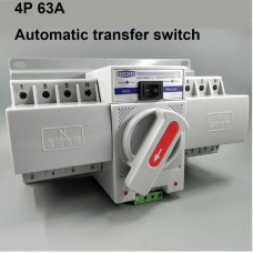 Automatic transfer switch ATS 4P 63A 380V MCB type Dual Power
