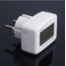 LCD Digital Voltmeter 80-300V AC EURO 2 Round Plug