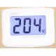 LCD Digital Voltmeter 80-300V AC EURO 2 Round Plug.