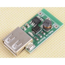 DC-DC Step Up Power Supply Module Boost Converter USB Charger 5V (In 2-5V 1200mA)