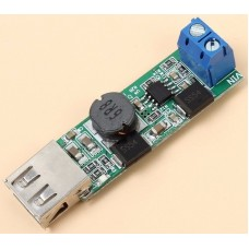 Voltage Converter 7-24V Buck Module DC-DC 5V 5A Step-down Module High-current USB Charging.