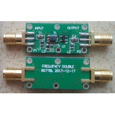 Frequency Doubler multiplier input 10 MHZ to 1.2 GHz output 20 MHZ to 2.4 GHz (SMA)