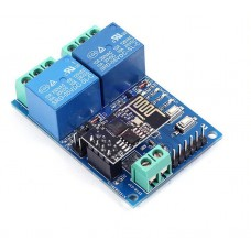 DC 5V 2 CH Relay Module Based ESP8266 ESP-01 WIFI Wireless Relay Shield for IOT Smart Home