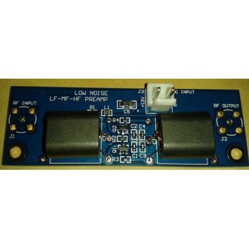 HF Low-noise pre-Amplifier using 2x J310 Push-Pull (500 KHZ - 54 MHZ
