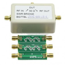 RF Bridge and 6dB to 40dB Attenuator 1MHz ~ 500MHz, VNA Return Loss VSWR SWR reflection bridge antenna