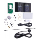 100KHz-1.7GHz UV HF RTL-SDR USB Tuner Receiver/ R820T+8232 + case + Antenna (KIT) (8Bit ADC)