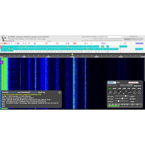 KiwiSDR Kit (GPS Antenna, Beagle,Enclosure and SD card) Plug and