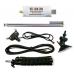 RTL-SDR Blog V3 R820T2 RTL2832U 1PPM TCXO SMA Software Defined Radio 500 kHz to 1.7 GHz with Dipole Antenna Kit.